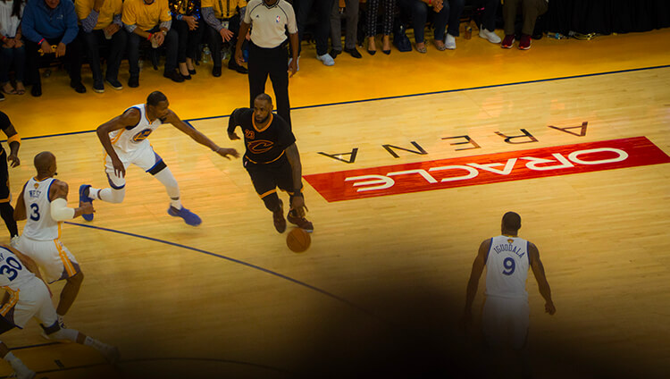 Cleveland Cavaliers vs. Golden State Warriors, NBA finals, 2017