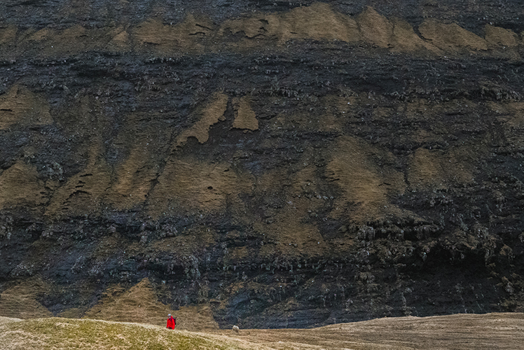 Faroese Rock Wall